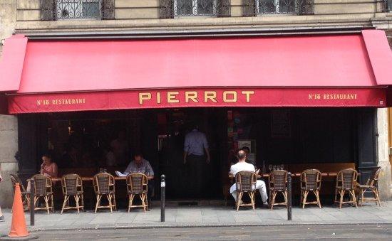 Pierrot Restaurant Rue Etienne Marcel
