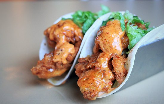 Benton, Αρκάνσας: Fried Chicken Tacos