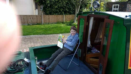 Middlewich, UK: You can see by that smile how much my 8 year old son enjoyed the holiday