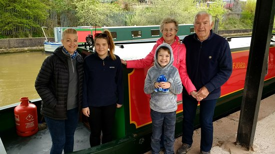 Middlewich, UK: Sorry to say goodbye to Andersen Boats, till next time