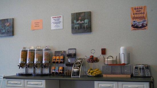 Neepawa, Канада: Breakfast Area