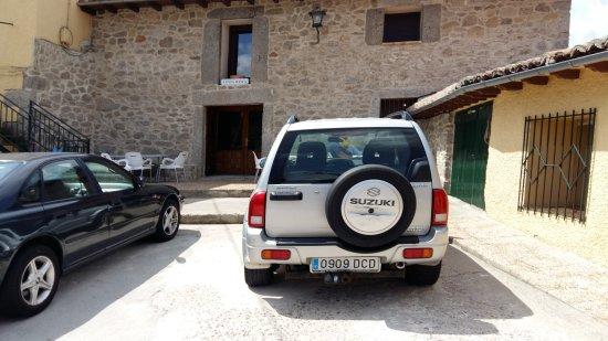 San Martin del Pimpollar, Spain: La entrada