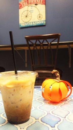 Denver, NC: Iced Pumpkin Latte