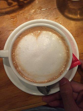 Workum, Niederlande: Perfecte Cappucino!