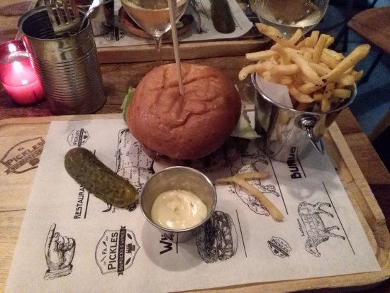 Hamburger Classico Picture Of Firma Pickles Burgers