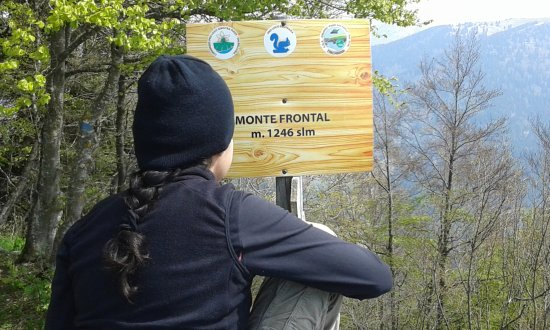 Trichiana, Italia: Sentiero molto bello, partendo da Melere la salita è poco impegnativa (400 m. circa).