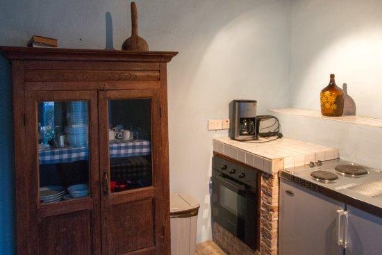 Vasilikos House: Die Küche