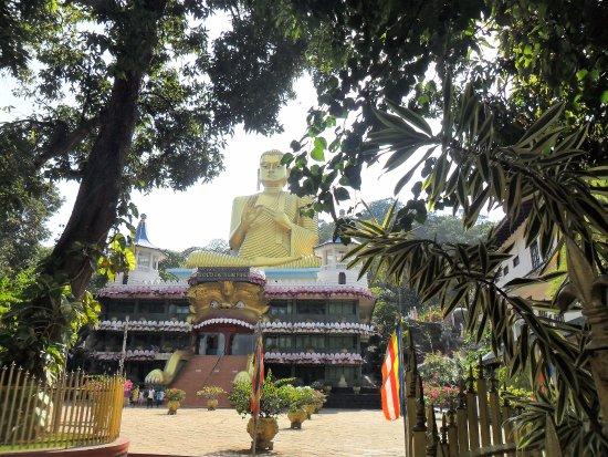 Dambulla, Sri Lanka: bouddha