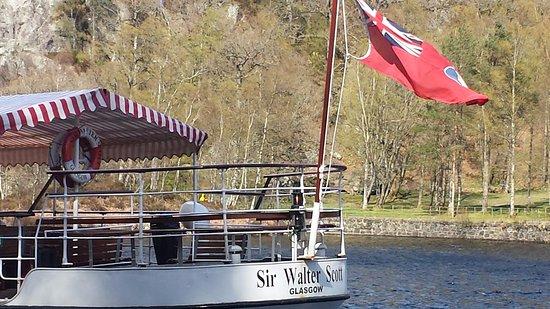 Loch Lomond and The Trossachs National Park, UK: Interesante paseo en barco