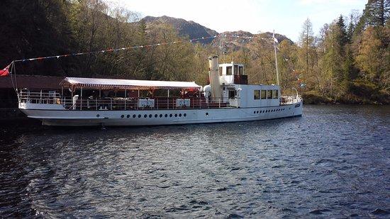 Loch Lomond and The Trossachs National Park, UK: Antiguo barco de vapor