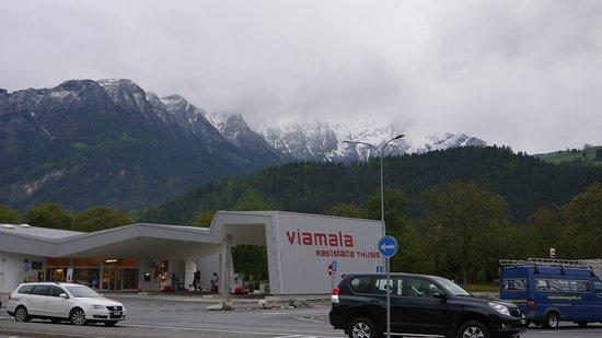 Viamala Raststatte Thusis AG: 건물 전경