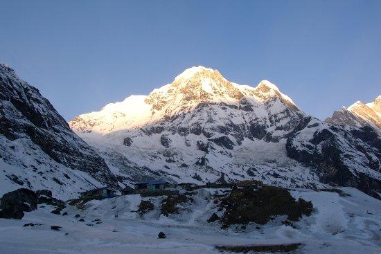 Kathmandu Valley, Nepal: Sonnenaufgang