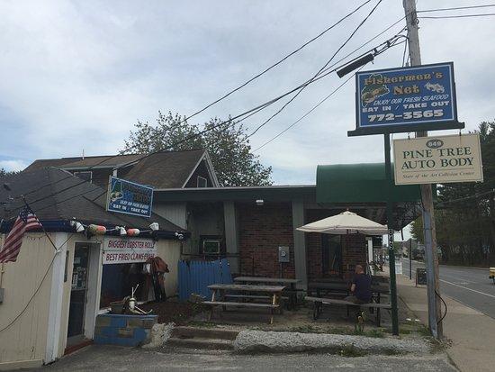 Fishermen's Grill: Lokal von außen