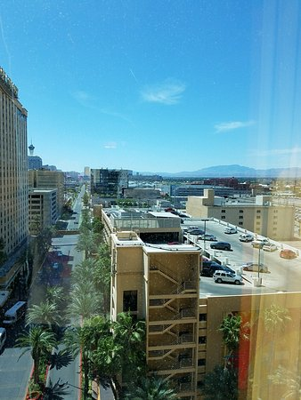 Golden Nugget Hotel: View from Rush Tower suite