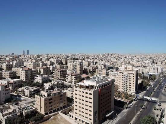 Regency Palace Amman: Vista dal tetto