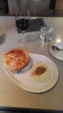 Bannock: Arcadian court chicken pot pie