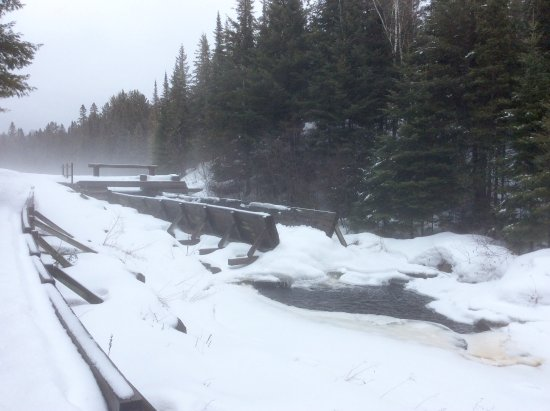 Algonquin Provincial Park, Canada: The sluice