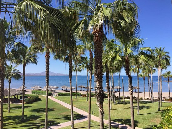 Loreto Bay Golf Resort & Spa at Baja: The view from our balcony.