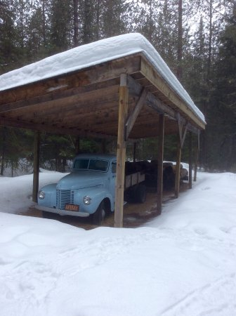 Algonquin Provincial Park, Canada: Logging truck
