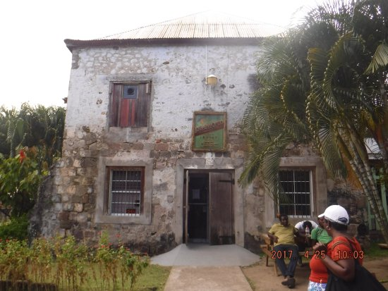 Saint Mark Parish, Grenada: outside the front enterance