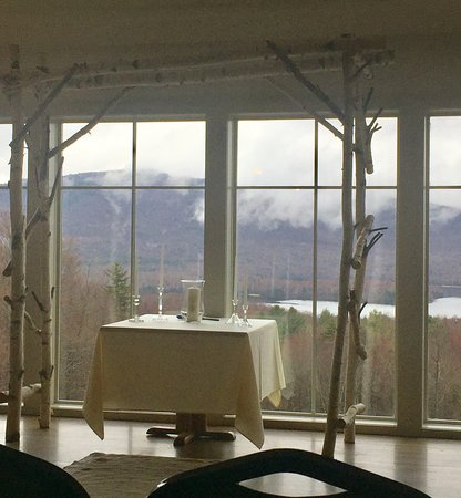 The Mountain Top Inn & Resort: Wedding ceremony on the second floor of the barn