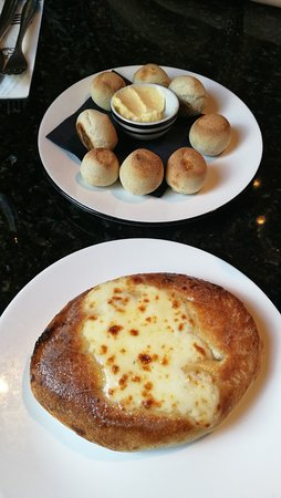 Dough Balls And Garlic Bread Picture Of Pizza Express
