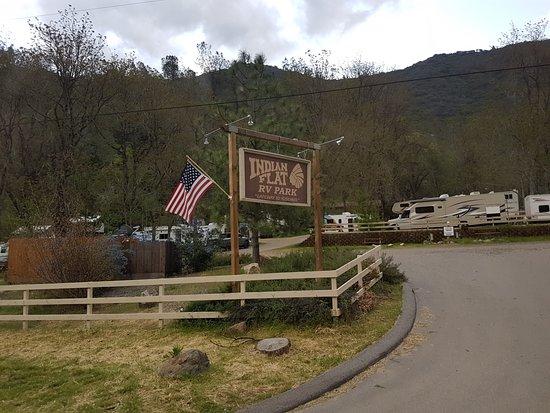 Indian Flat Campground: Eingang