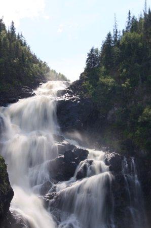 Chambord, Καναδάς: The waterfall