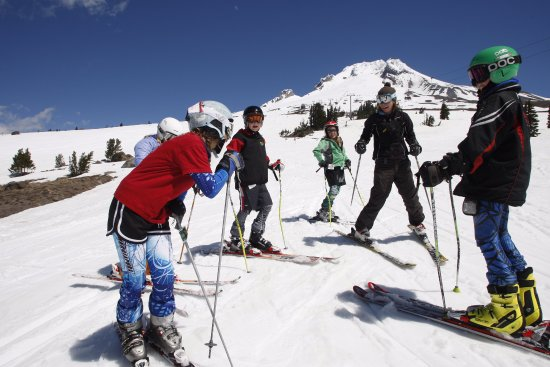 Timberline Lodge and Ski Area is open year-round, including in the summer for camps