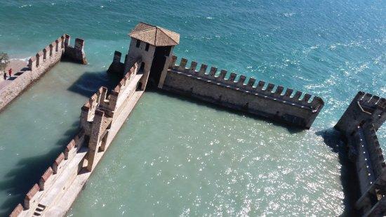 Rocca Scaligera di Sirmione: darsena