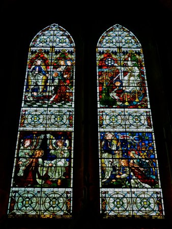 Salisbury Cathedral Stained Glass