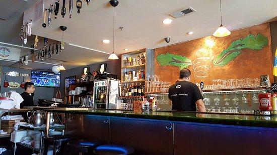 San Carlos, Καλιφόρνια: Bar and TV