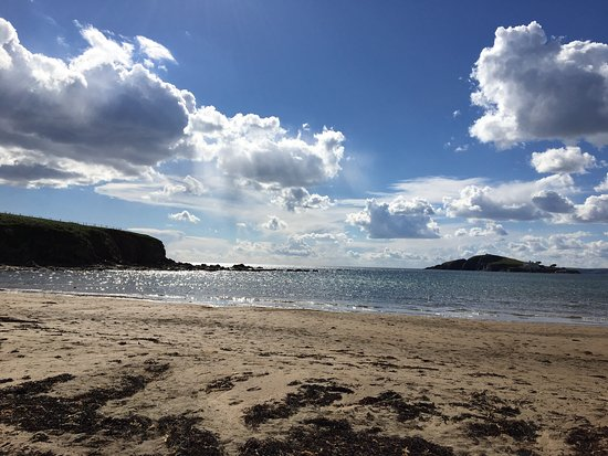 Bantham Beach on a spring day