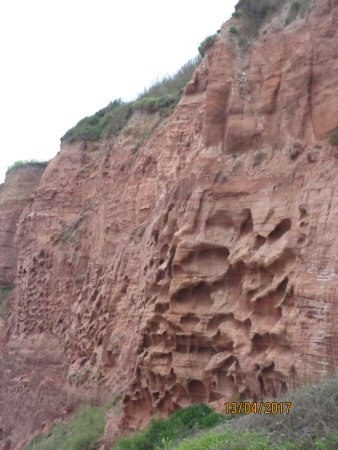 Rocks at Budleigh Salterton