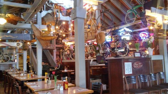 Rosie's Cafe: Take the time to wander around looking at their collection.