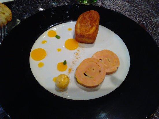 Foie gras en entr e avec coulis aux fruits de la passion for Entree avec du foie gras froid