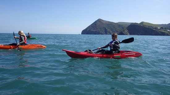 Combe Martin, UK: On our way to the caves