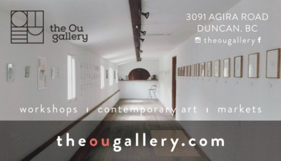 Duncan, Canada: the Ou gallery - contemporary art, workshops & markets