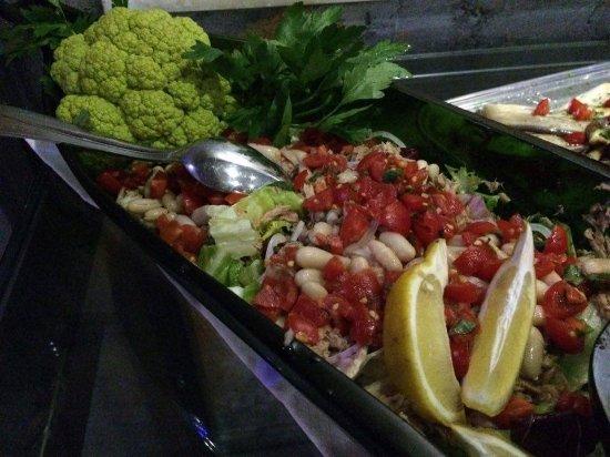 Vinci, Italien: vegetarian food