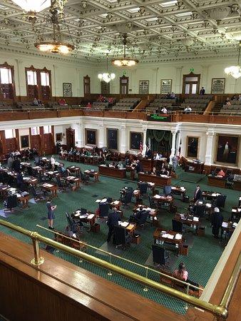 State Capitol: Senate in session