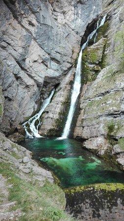 Bohinjsko Jezero, Slovenia: Waterfall Savica