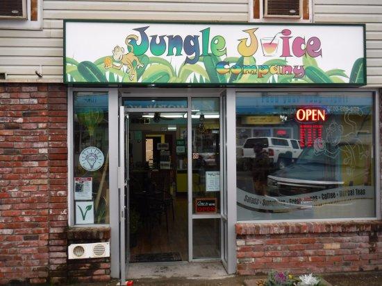 New Jungle Juice Company sign!!!  We love it.