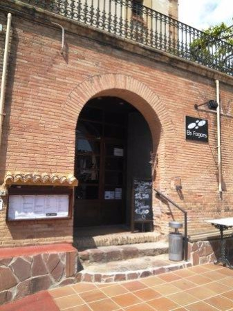 Corbera de Llobregat, Spain: Entrada restaurante