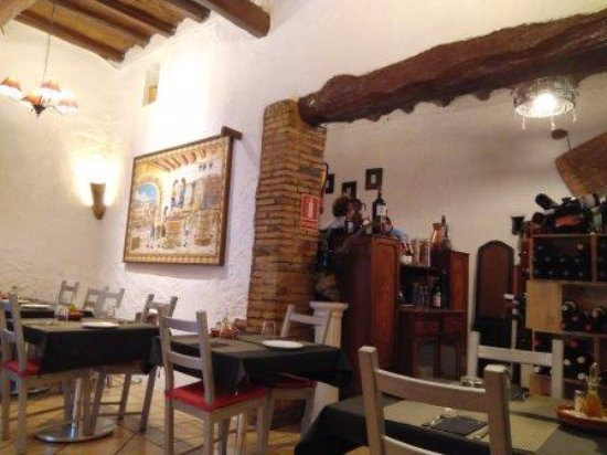 Corbera de Llobregat, Spanje: Interior restaurante