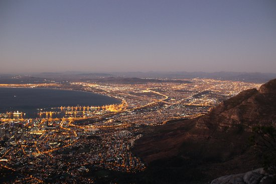 Gordon's Bay, South Africa: Cape Town, view from Table Mountain