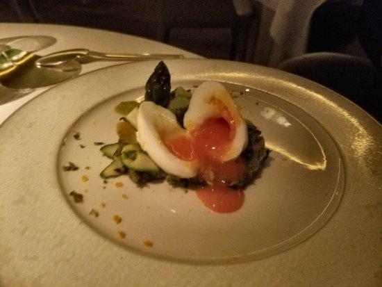 Alain Ducasse at The Dorchester: Cornish Egg
