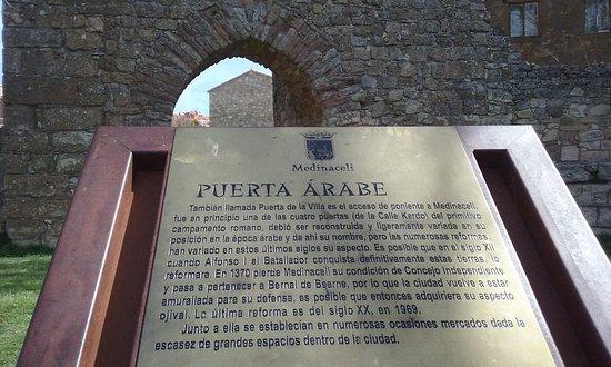 Medinaceli, إسبانيا: Puerta Arabe