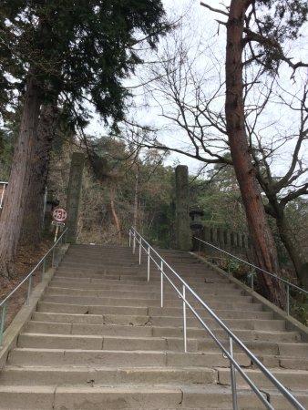 Iimoriyama: 階段が結構急です