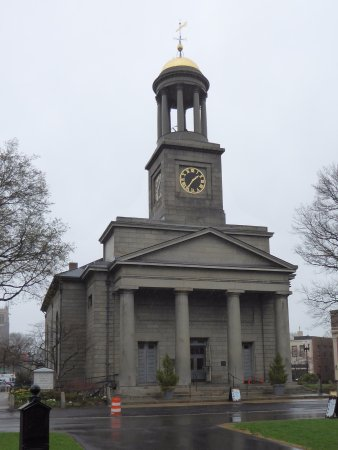 Quincy, MA: United First Parish Church Exterior