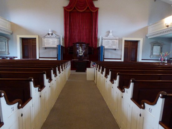 Quincy, MA: Church Interior